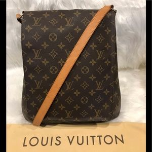 Louis Vuitton Musette Salsa GM (Large Size) #4.3M